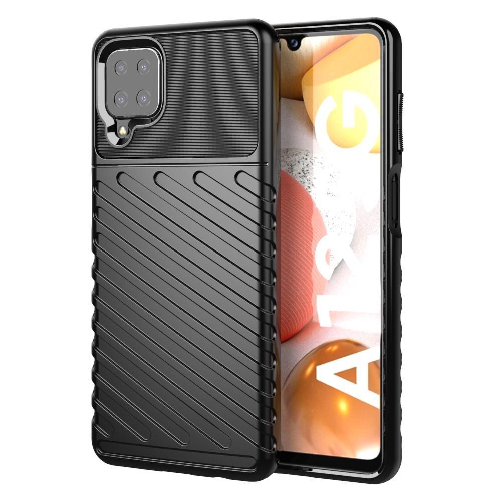 Thunder TPU Case Samsung Galaxy A12 black