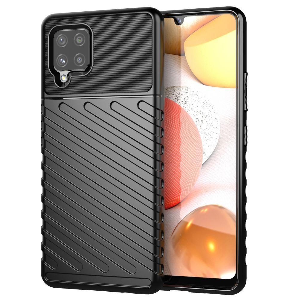 Thunder TPU Case Samsung Galaxy A42 5G black