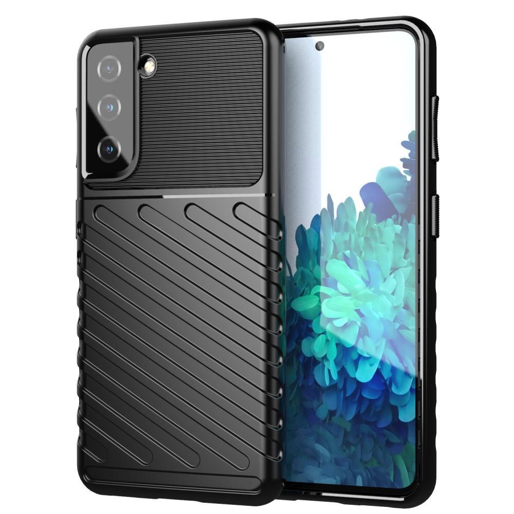 Thunder TPU Case Samsung Galaxy S21 black