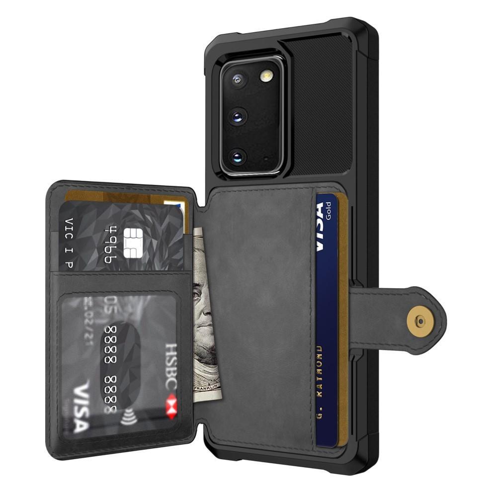 Tough Multi-slot Case Galaxy S20 svart
