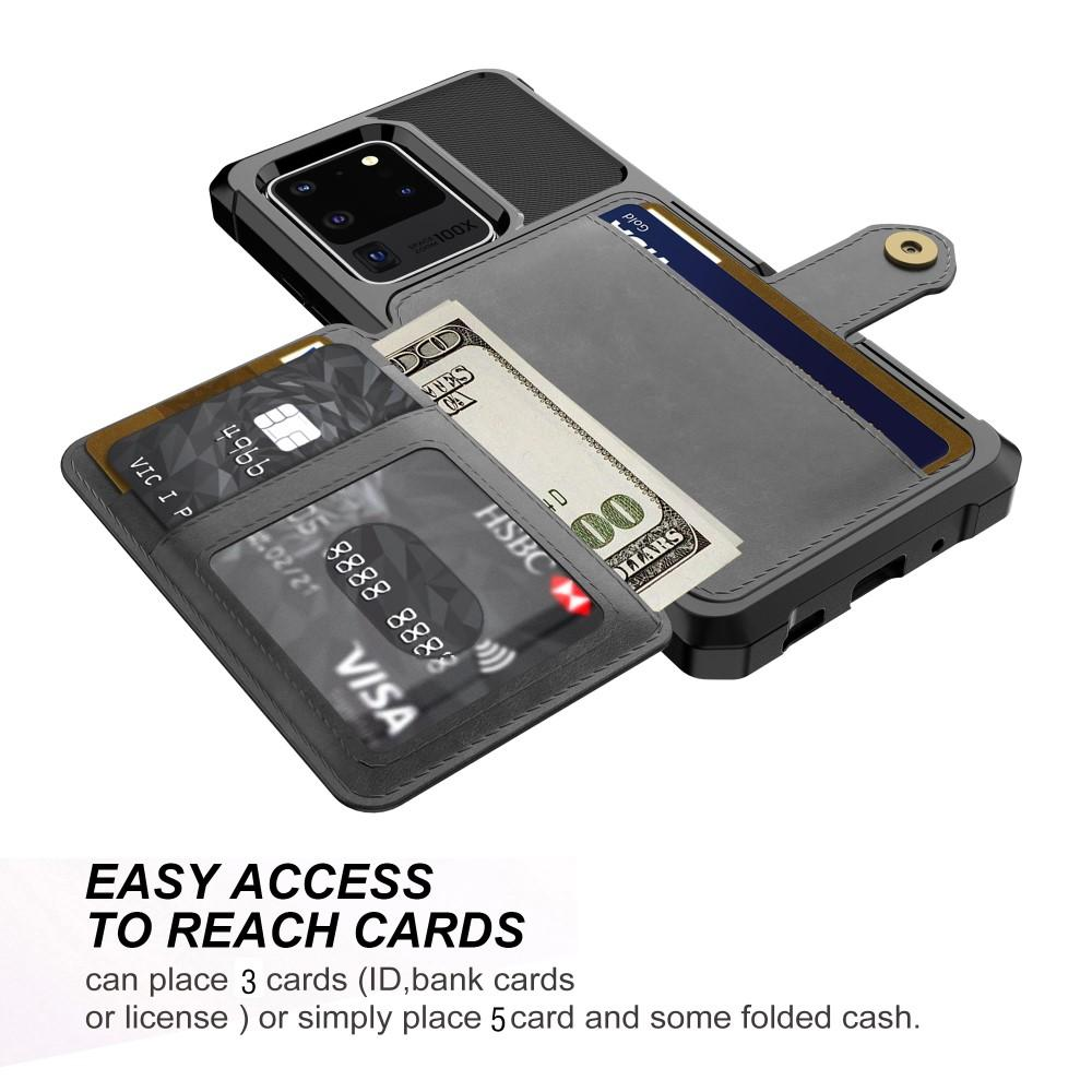 Tough Multi-slot Case Galaxy S20 Ultra svart