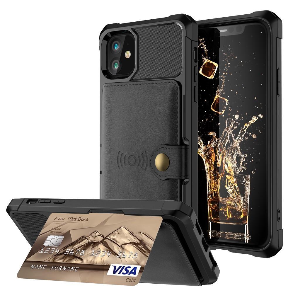 Tough Multi-slot Case iPhone 11 svart