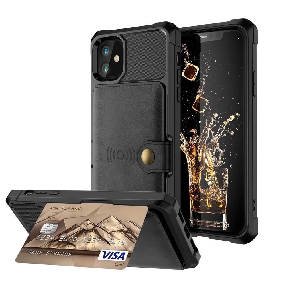Tough Multi-slot Case iPhone 12 Mini svart