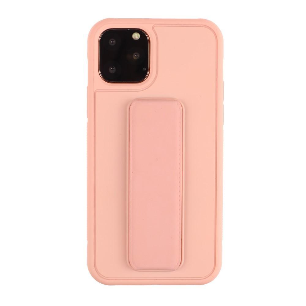 TPU Skal med handstrap iPhone 11 Pro rosa