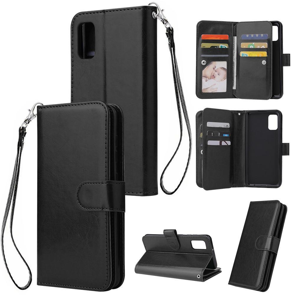 Plånboksfodral Multi-slot Galaxy A41 svart