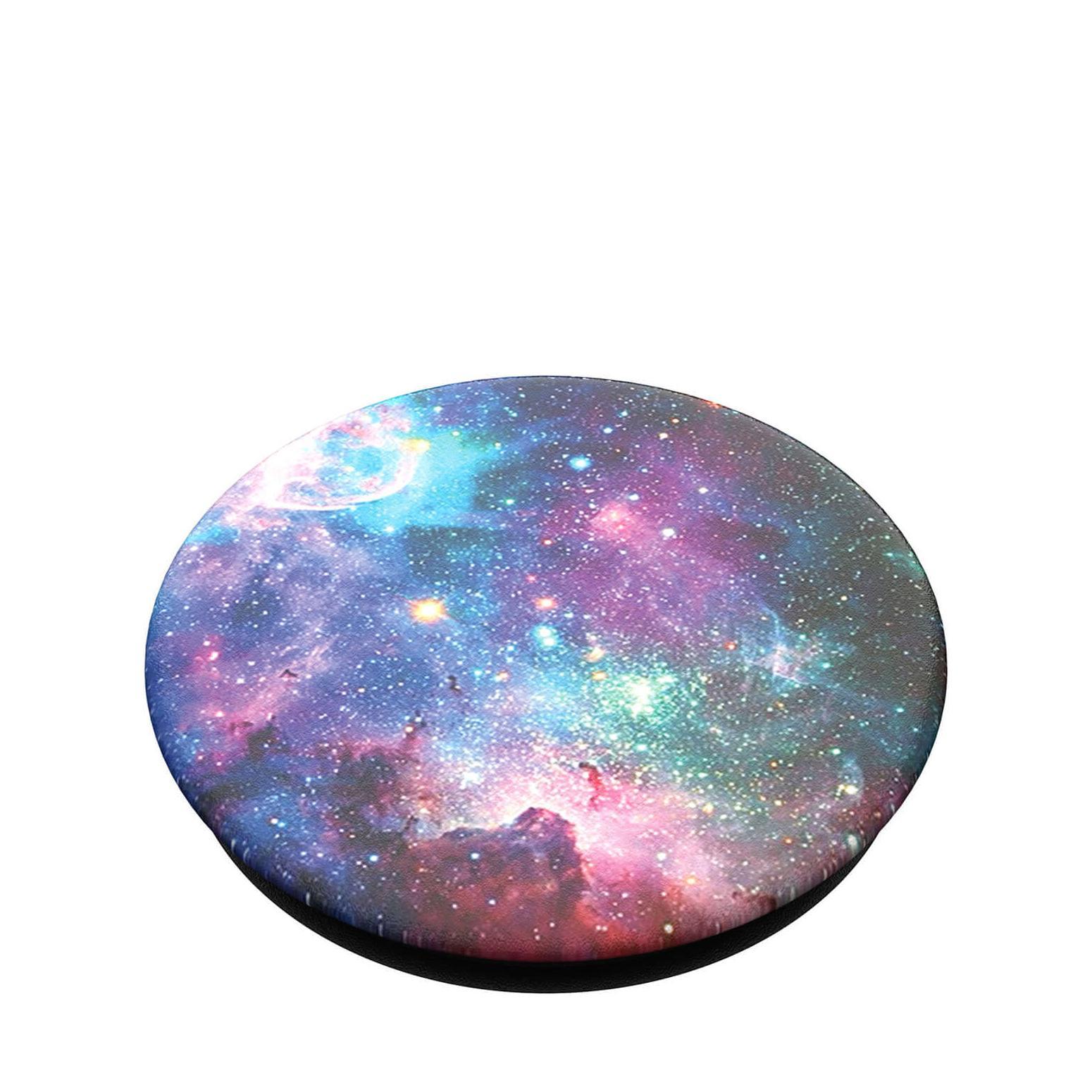 PopGrip Hållare/ställ Avtagbar Top - Blue Nebula