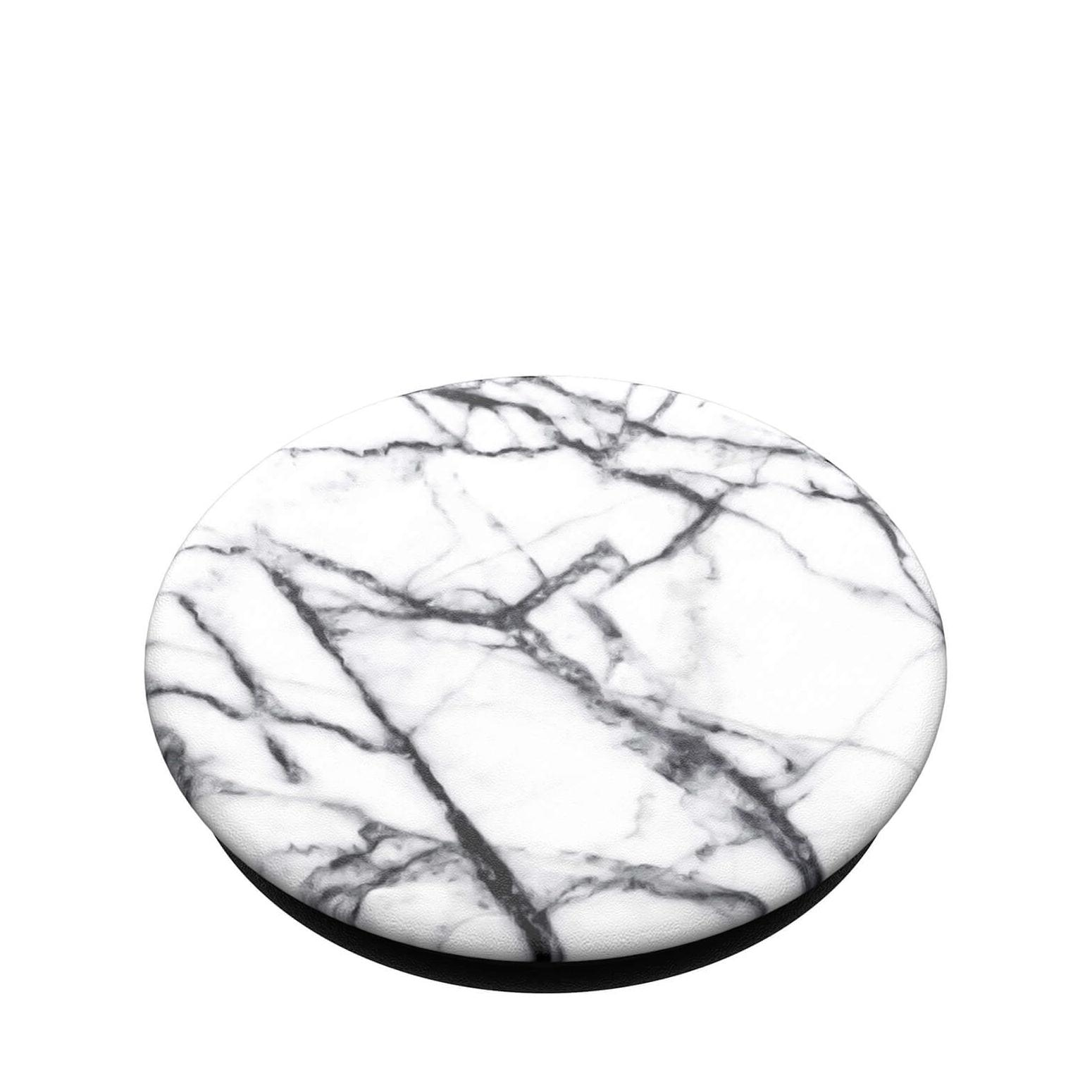 PopGrip Hållare/ställ Avtagbar Top - Dove White Marble