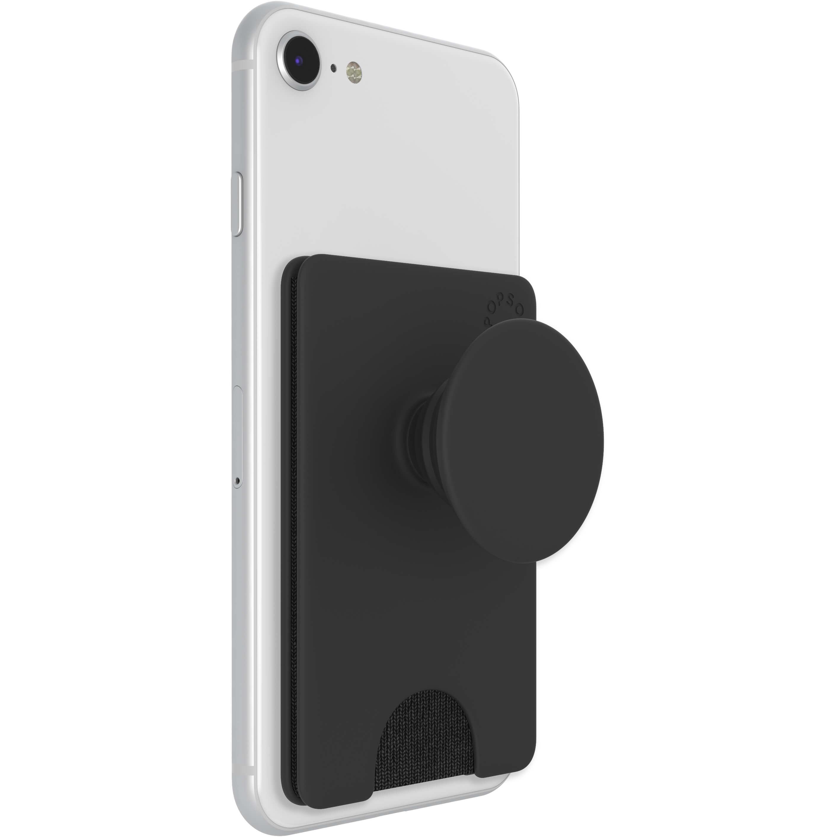 PopWallet+ Avtagbar Mobilplånbok Svart