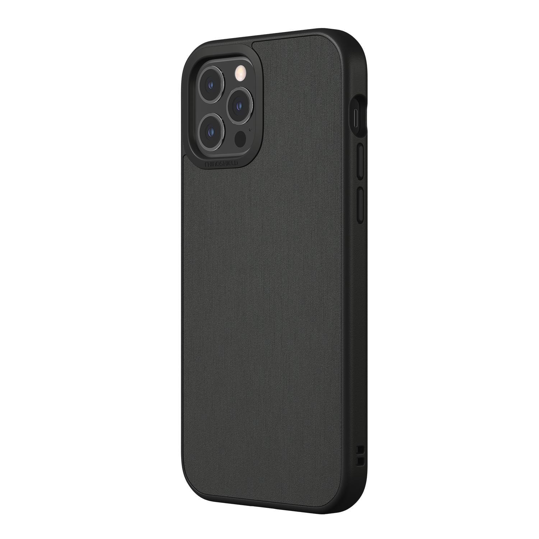 SolidSuit Skal iPhone 12/12 Pro Brushed Steel