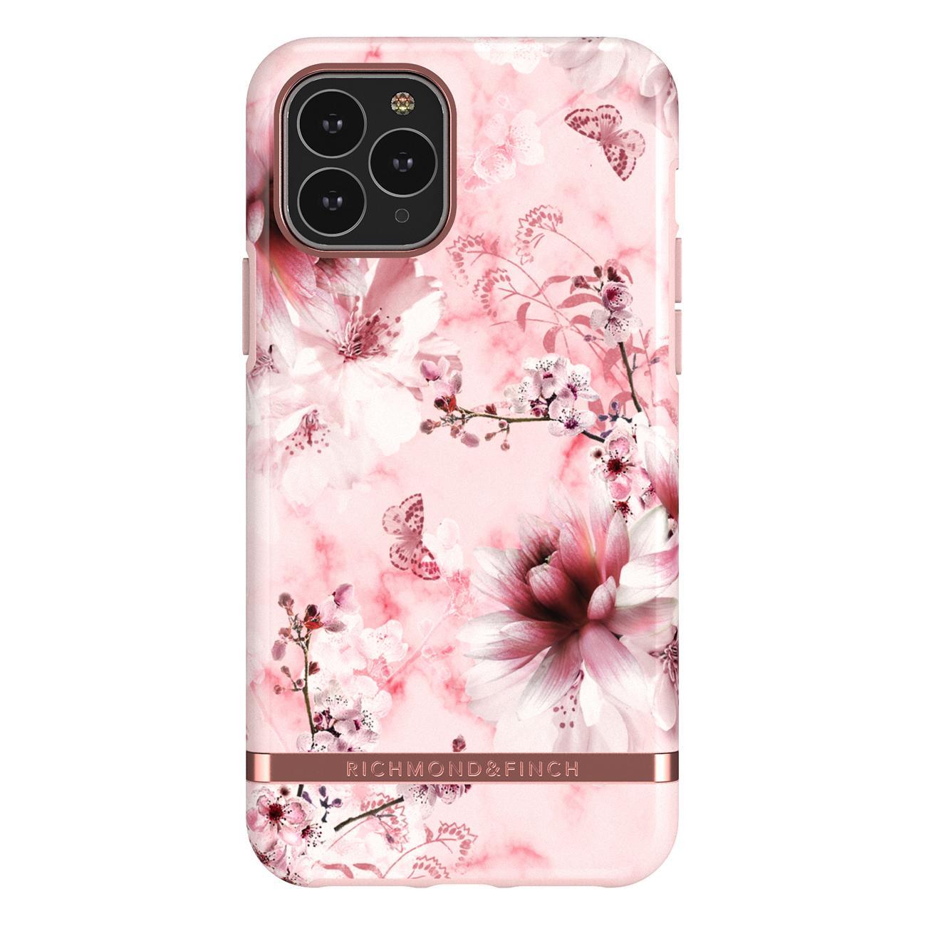 Skal iPhone 11 Pro Pink Marble Floral