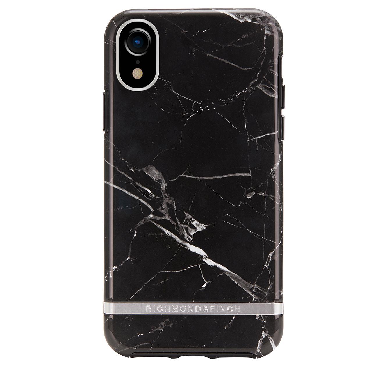 Skal iPhone XR Black Marble