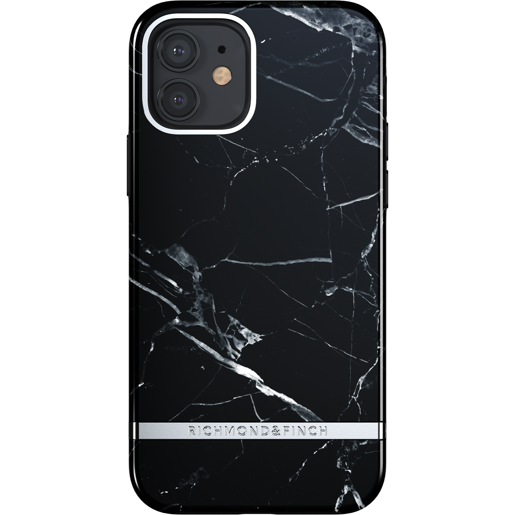 Skal iPhone 12/12 Pro Black Marble