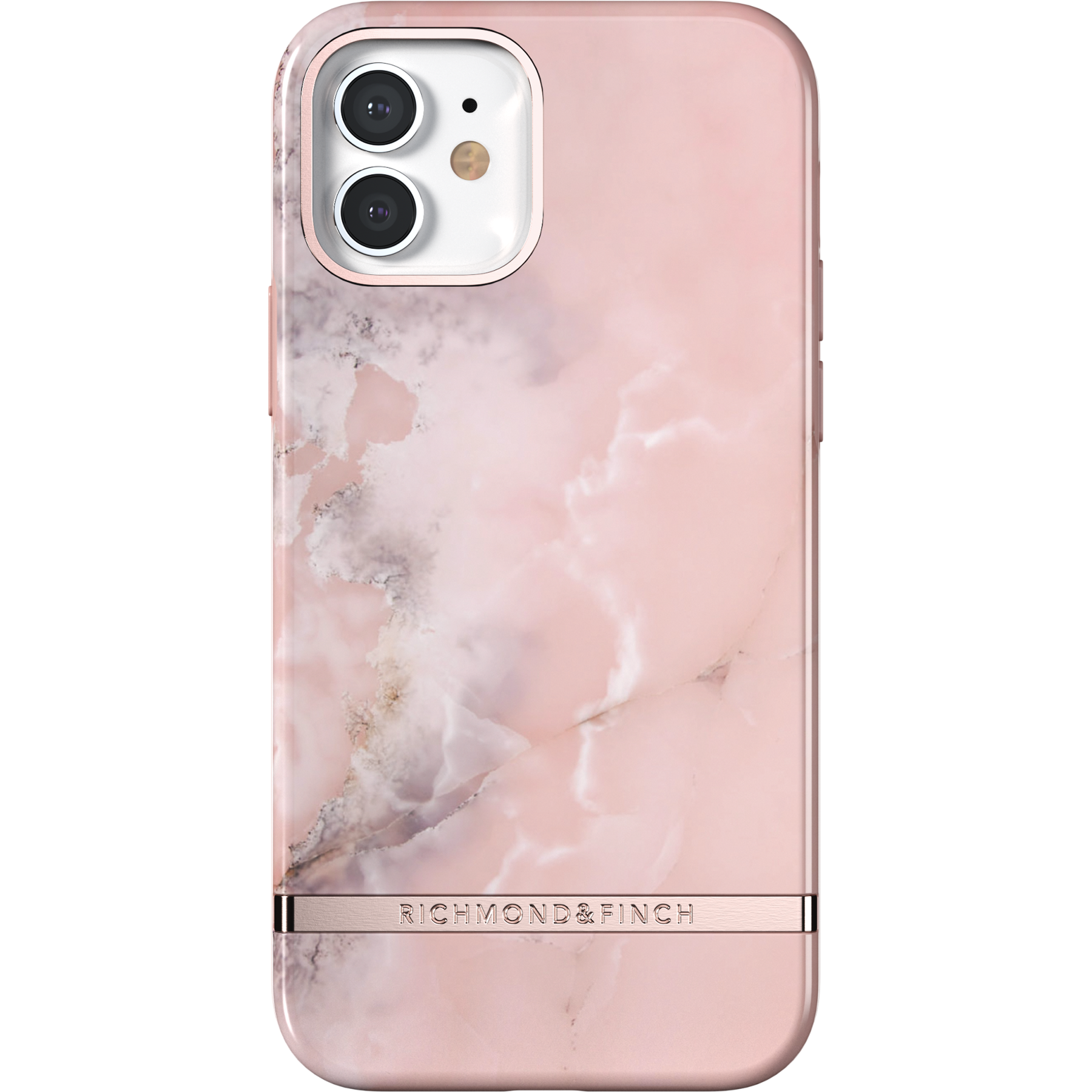 Skal iPhone 12/12 Pro Pink Marble