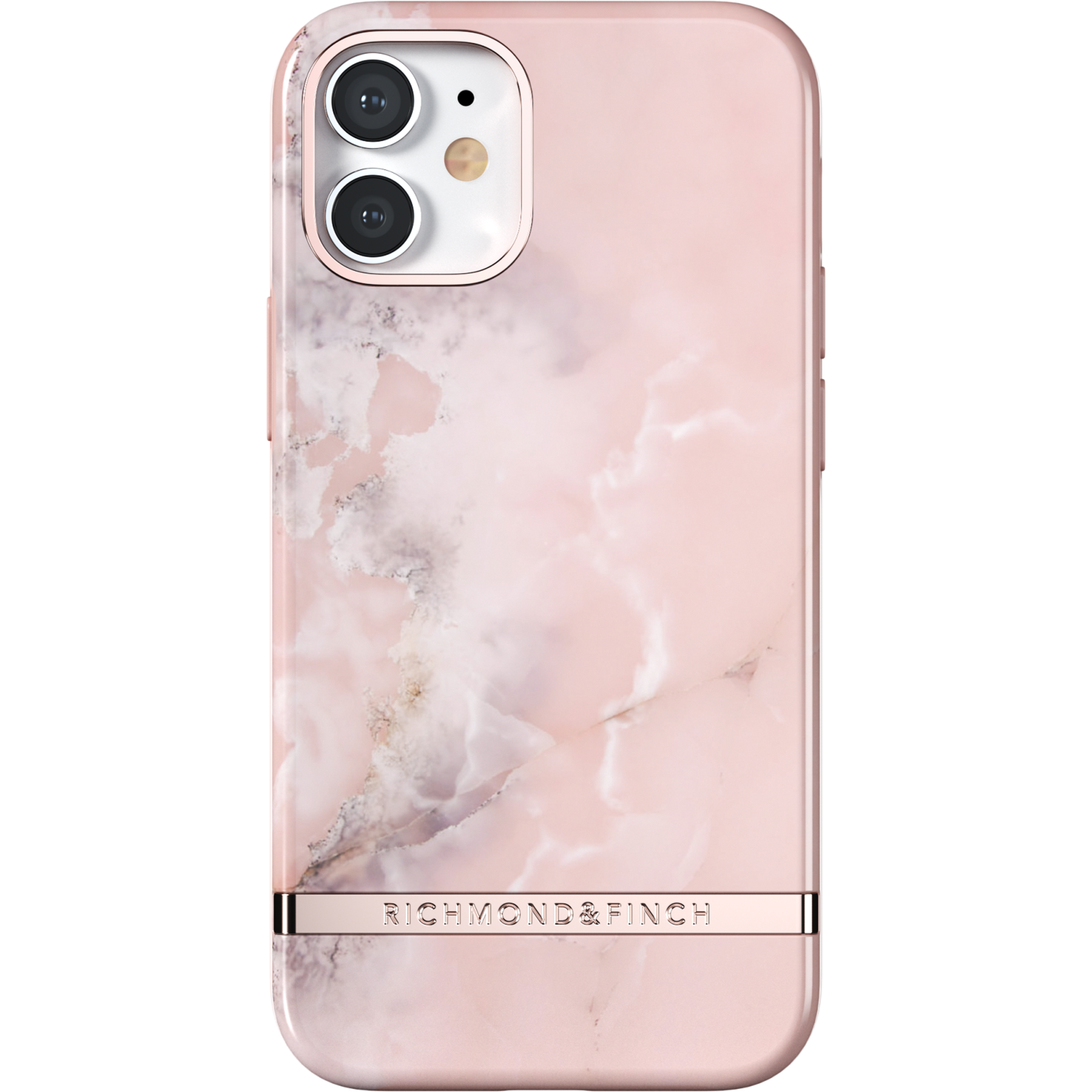 Skal iPhone 12 Mini Pink Marble
