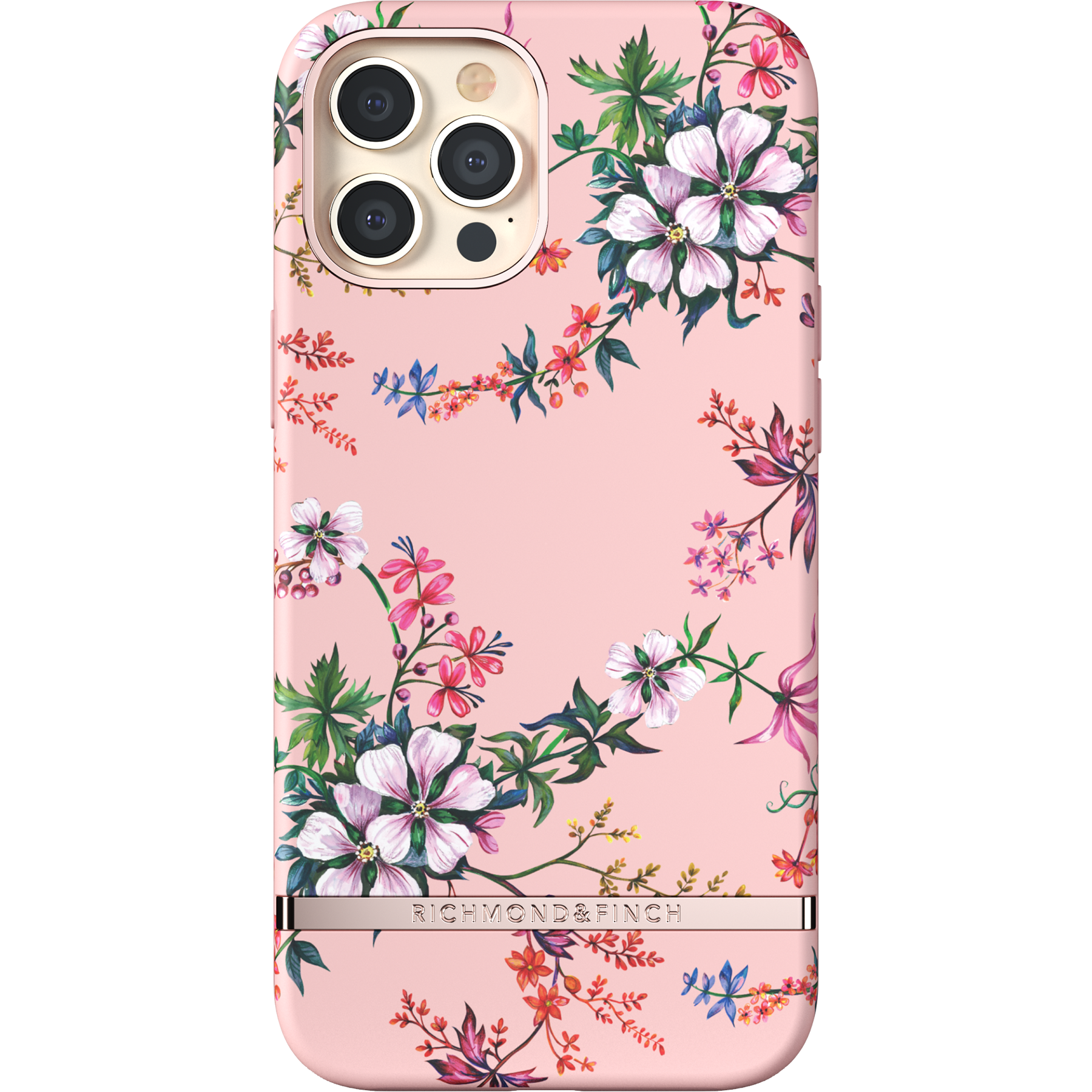 Skal iPhone 12 Pro Max Pink Blooms