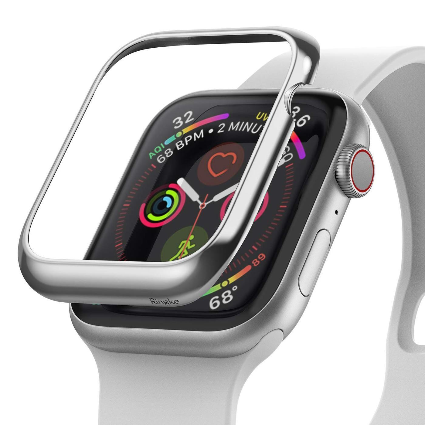 Bezel Styling Apple Watch 44mm Glossy Silver