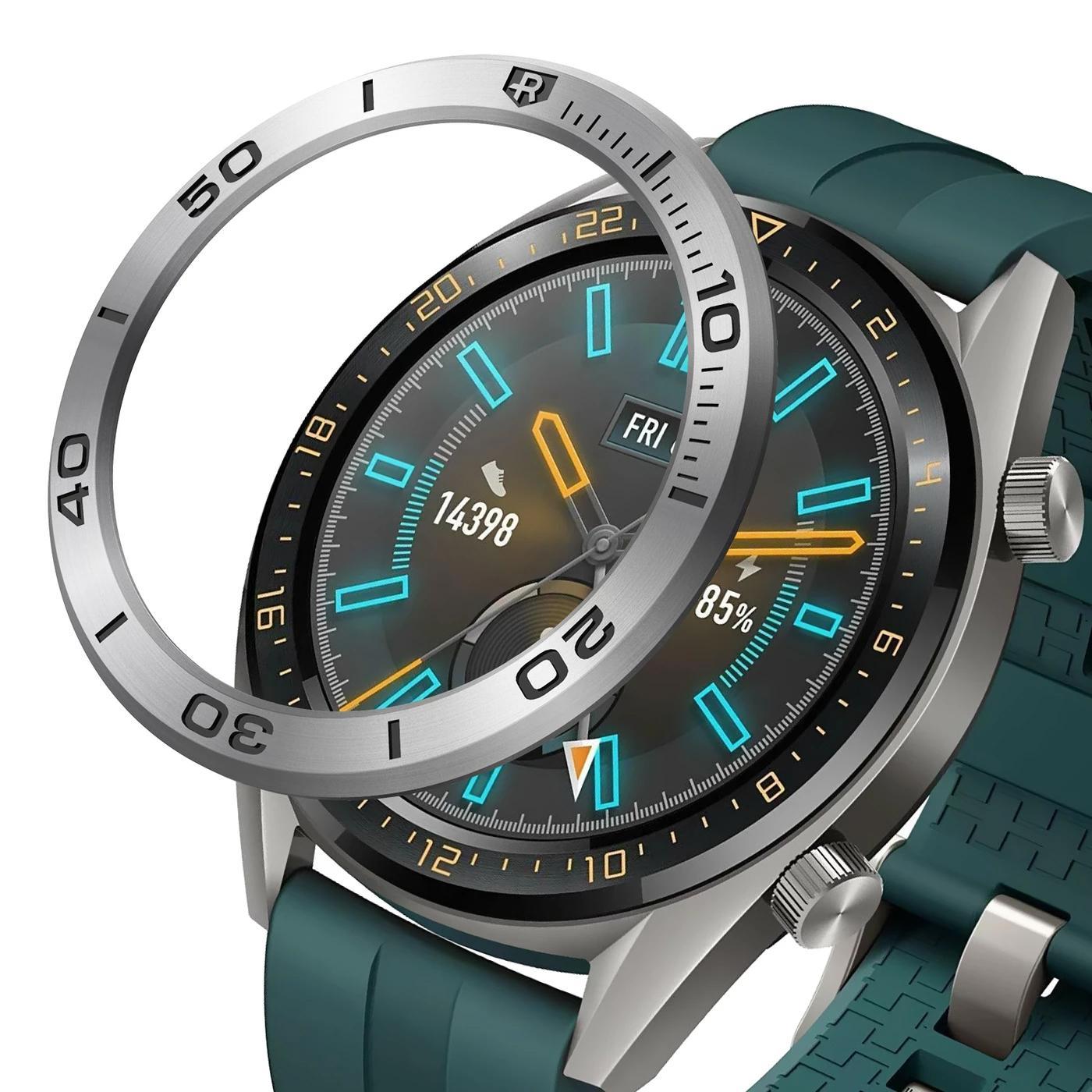 Bezel Styling Huawei Watch GT Silver