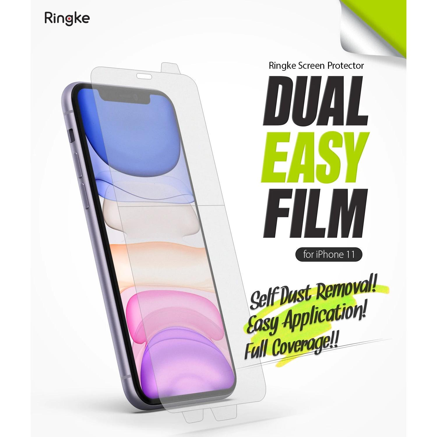 Dual Easy Screen Protector iPhone 11/XR (2-pack)