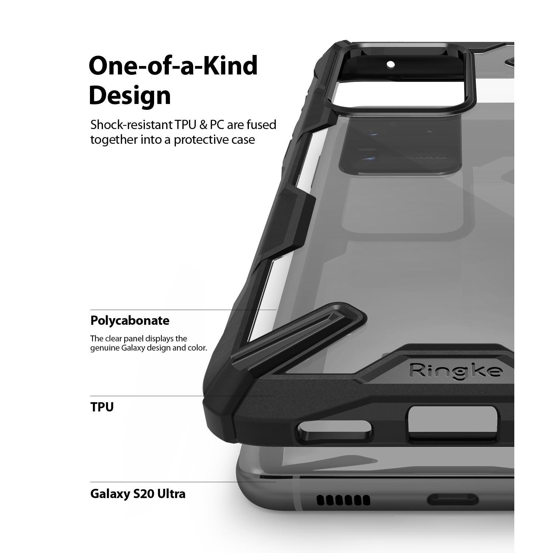 Fusion X Case Galaxy S20 Ultra Black