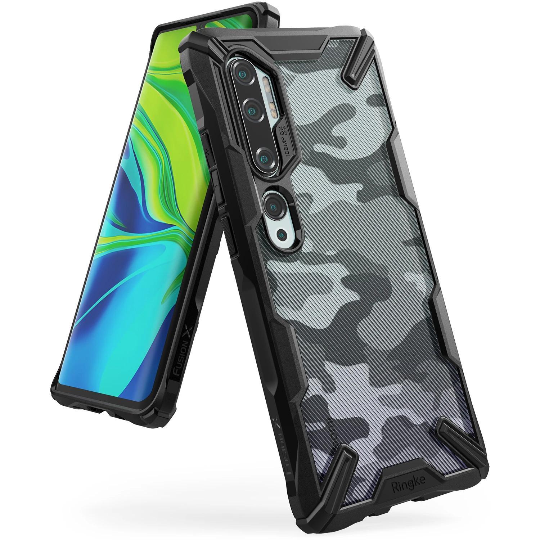 Fusion X Design Case Xiaomi Mi Note 10/10 Pro Camo Black