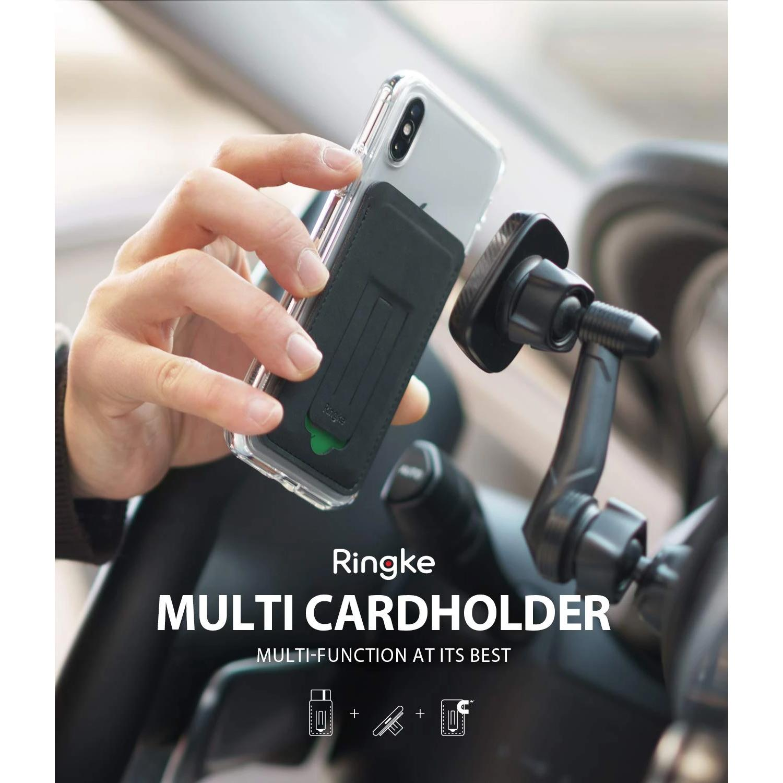 Multi Card Holder Black
