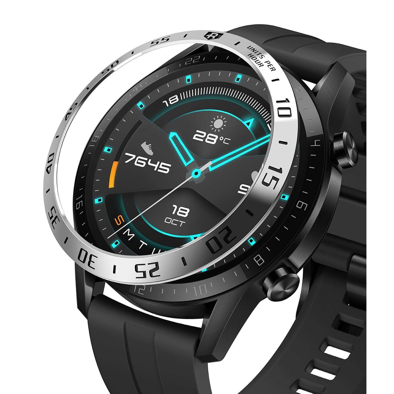 Bezel Styling Huawei Watch GT2 46mm Silver