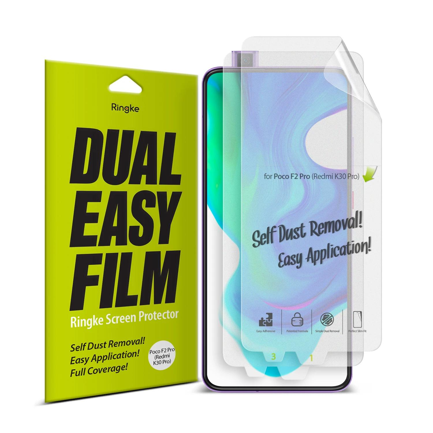 Dual Easy Screen Protector Poco F2 Pro (2-pack)