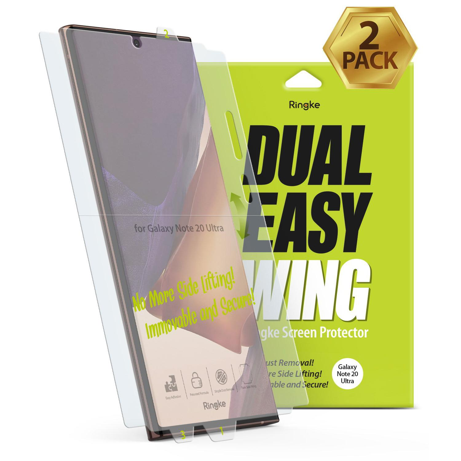 Dual Easy Wing Screen Protector Galaxy Note 20 Ultra (2-pack)