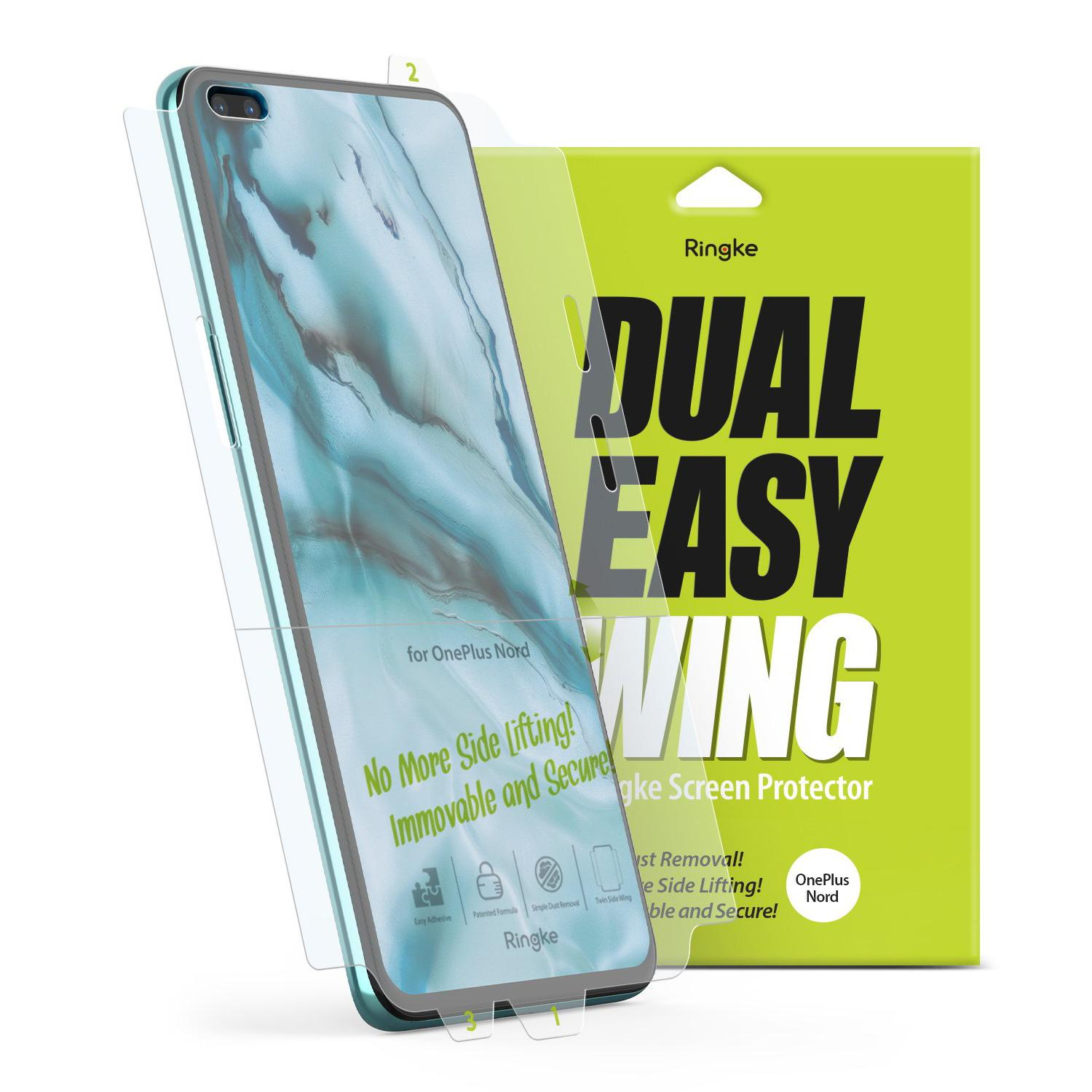Dual Easy Wing Screen Protector OnePlus Nord (2-pack)