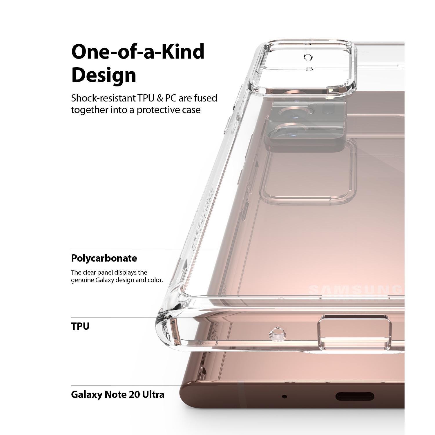 Fusion Case Galaxy Note 20 Ultra Clear
