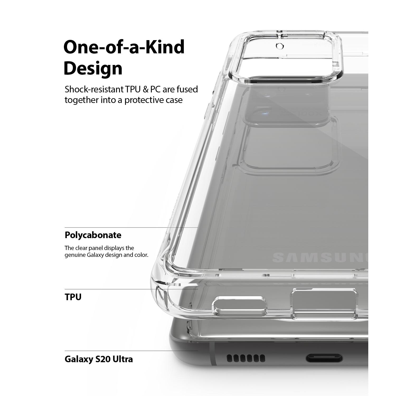 Fusion Case Galaxy S20 Ultra Clear