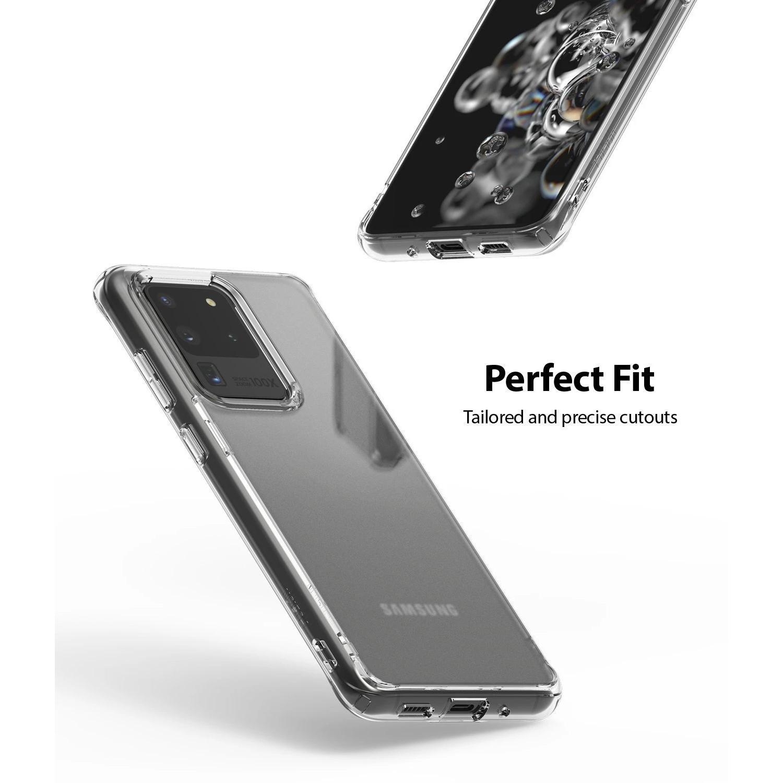 Fusion Matte Case Galaxy S20 Ultra Clear