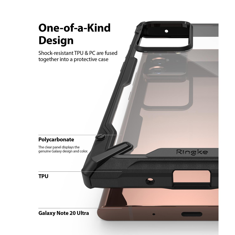 Fusion X Case Galaxy Note 20 Ultra Black
