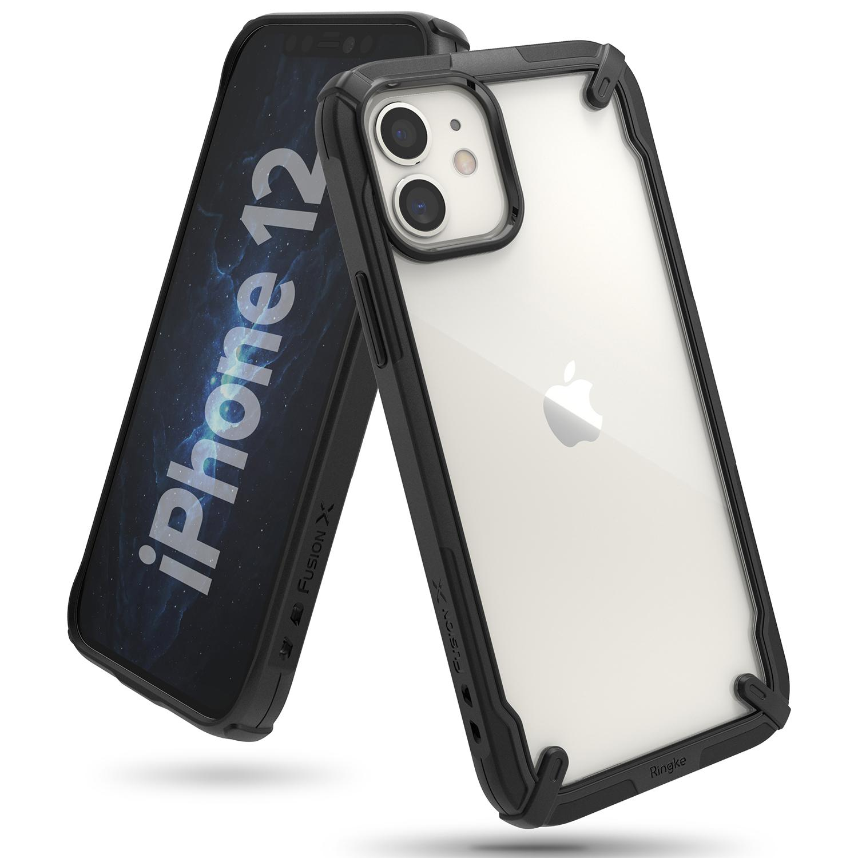 Fusion X Case iPhone 12/12 Pro Black
