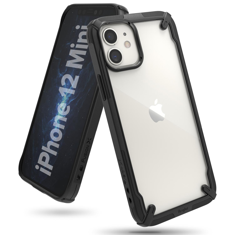Fusion X Case iPhone 12 Mini Black