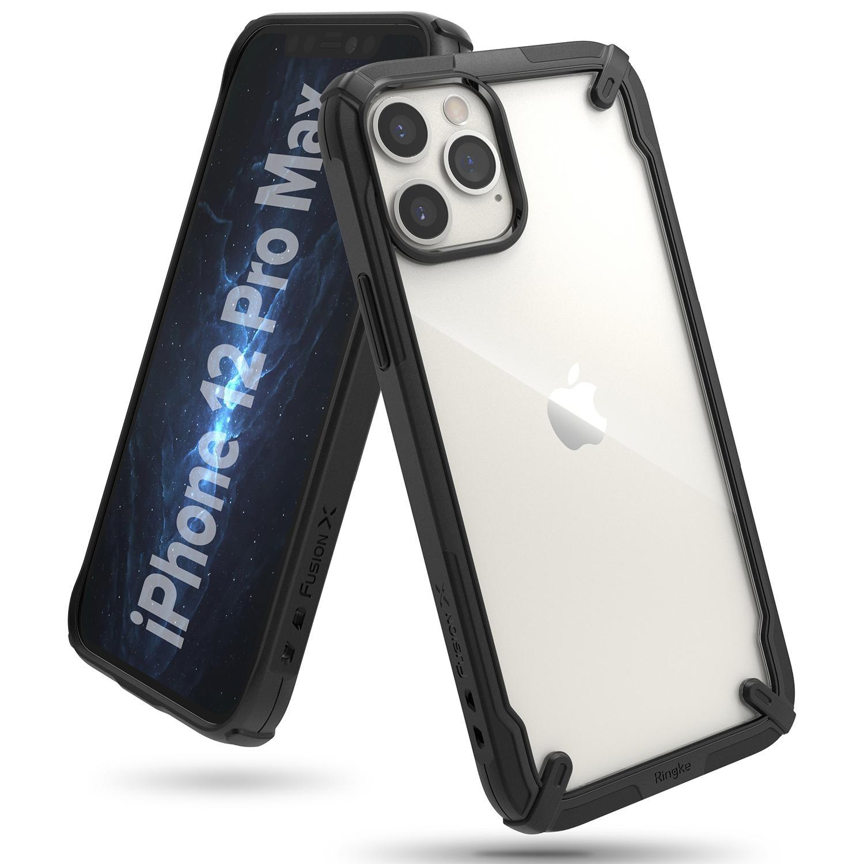 Fusion X Case iPhone 12 Pro Max Black