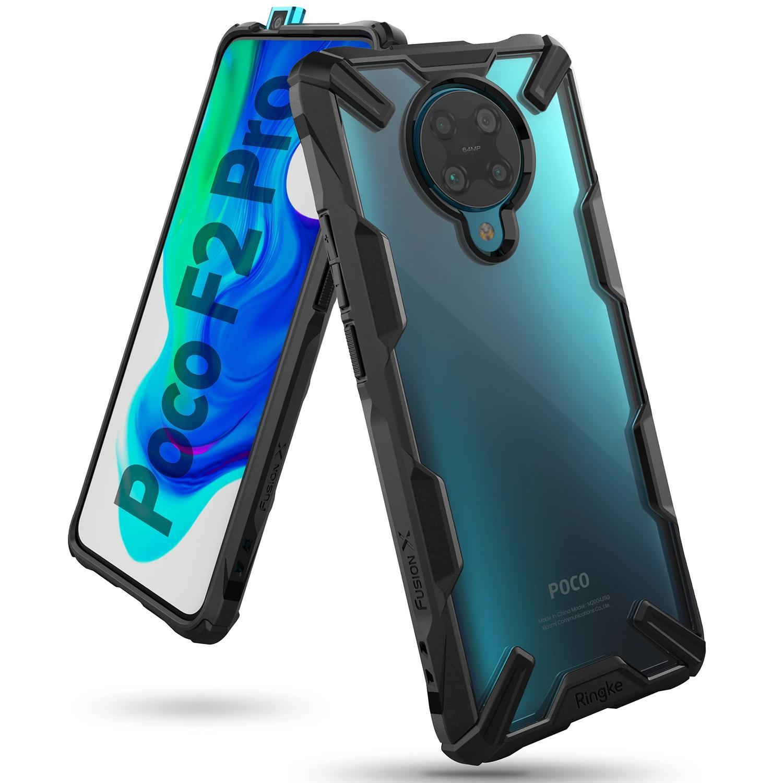 Fusion X Case Poco F2 Pro Black