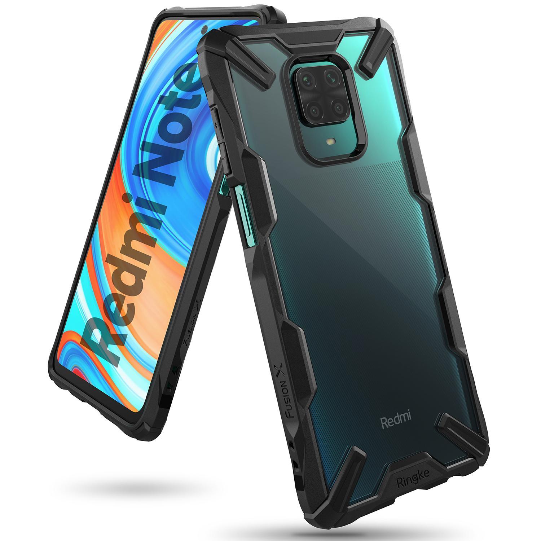 Fusion X Case Xiaomi Redmi Note 9 Pro/9S Black