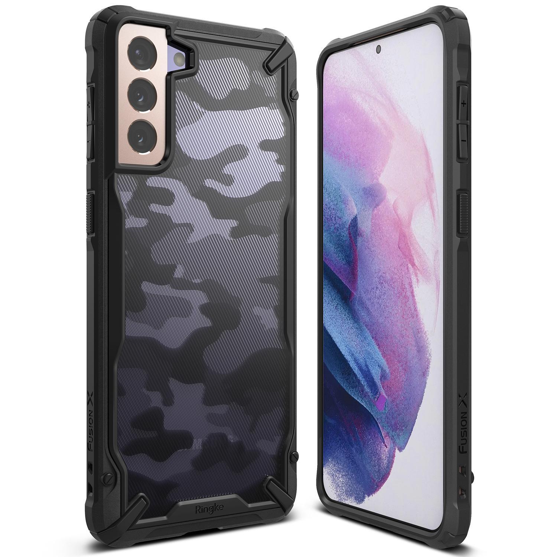 Fusion X Design Case Galaxy S21 Camo Black