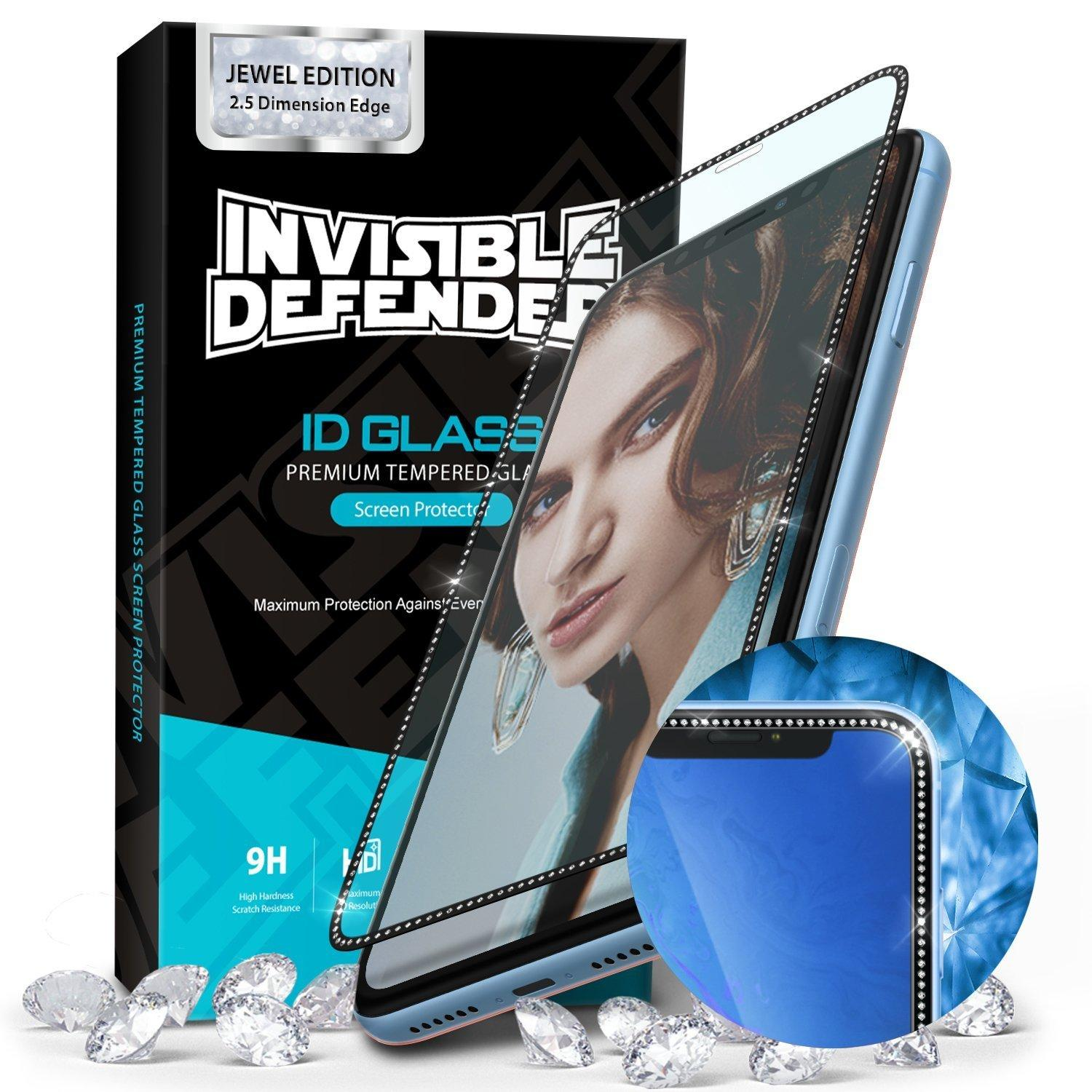 Invisible Defender Glass iPhone XR/11 Jewel Edition