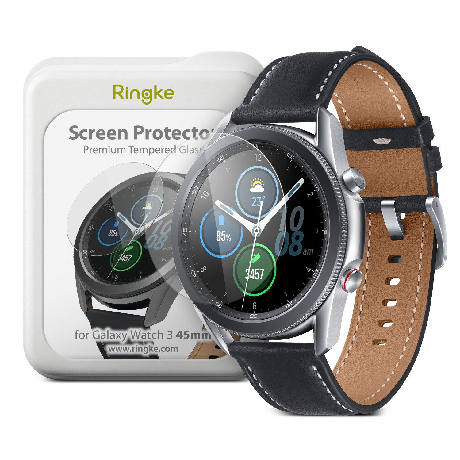 Invisible Defender ID Glass Galaxy Watch 3 45mm (4-pack)