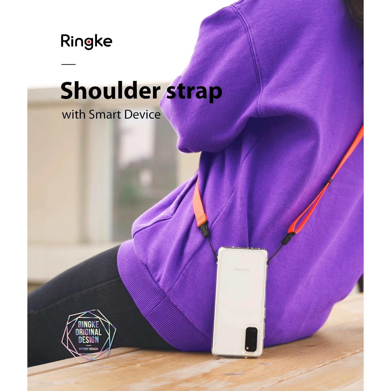 Shoulder Strap Neon Orange