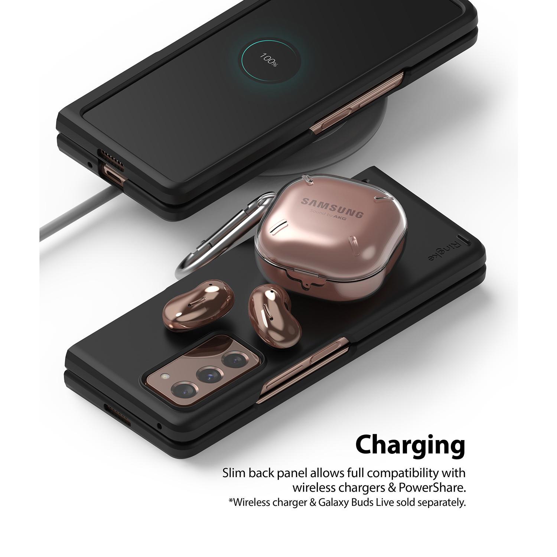 Slim Case Galaxy Z Fold 2 5G Matte Black