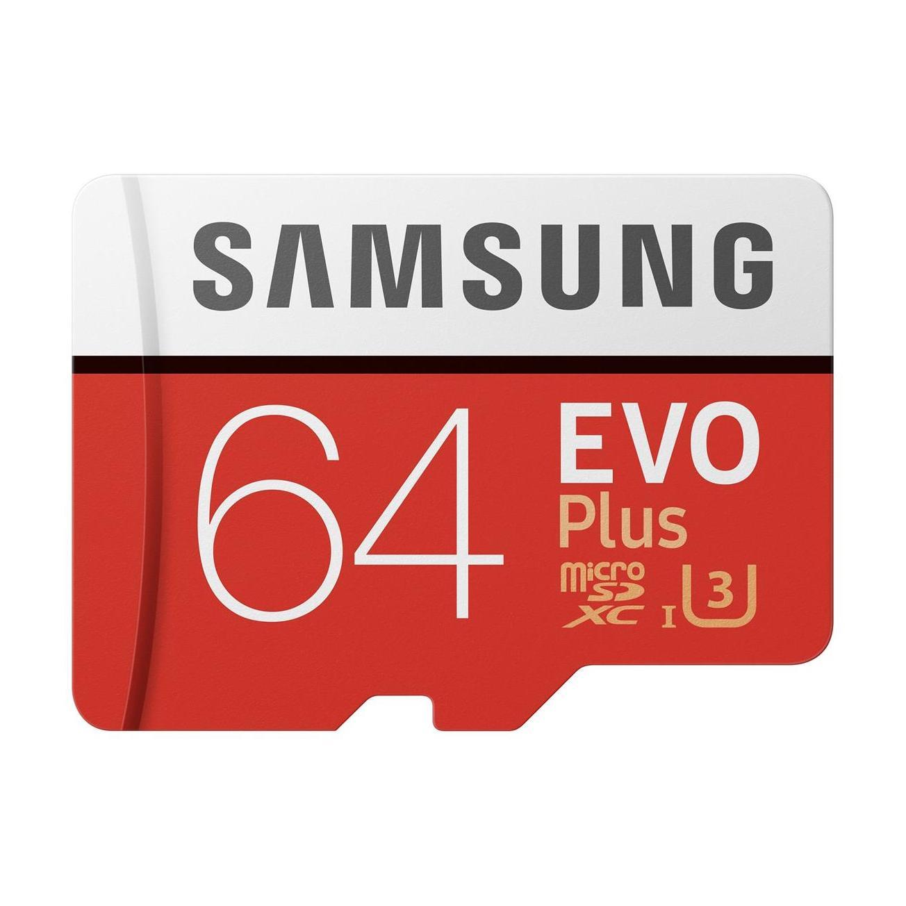 Evo Plus 64GB microSDXC Minneskort Class 10 U1