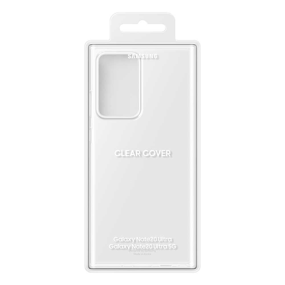 Clear Cover Galaxy Note 20 Ultra Transparent