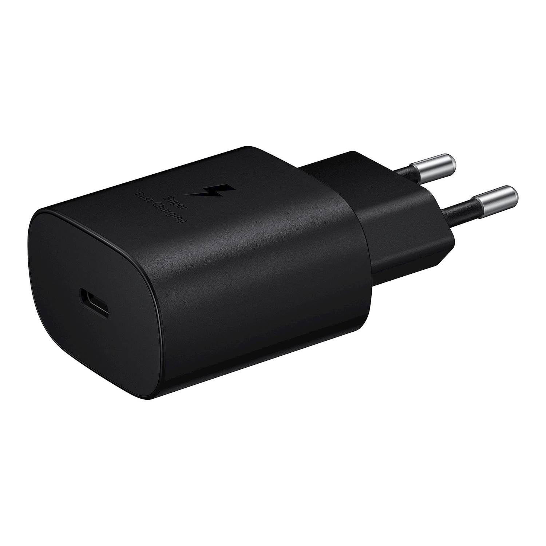 Mobilladdare Fast Charge 25W USB-C svart