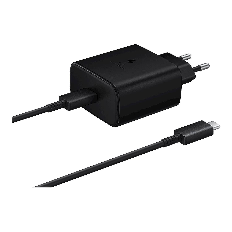 Mobilladdare Fast Charge 45W USB-C svart
