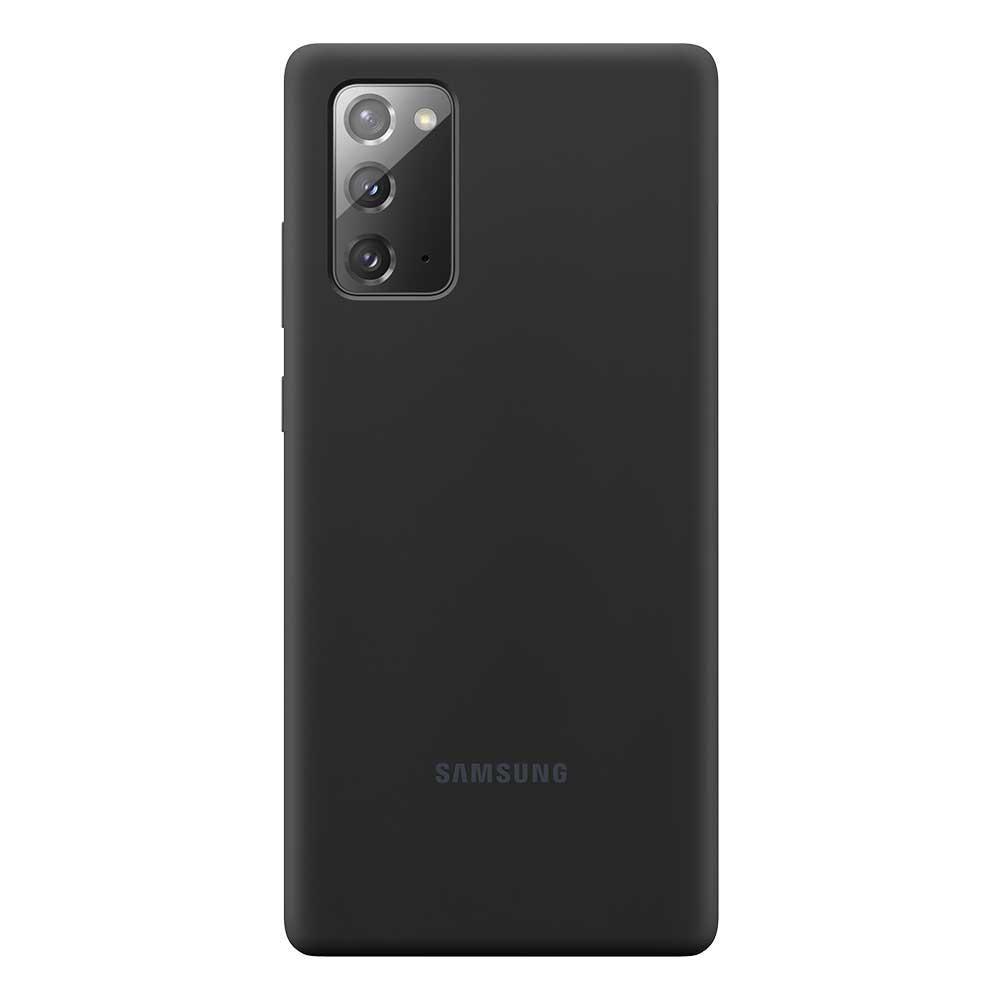 Silicone Cover Galaxy Note 20 Black