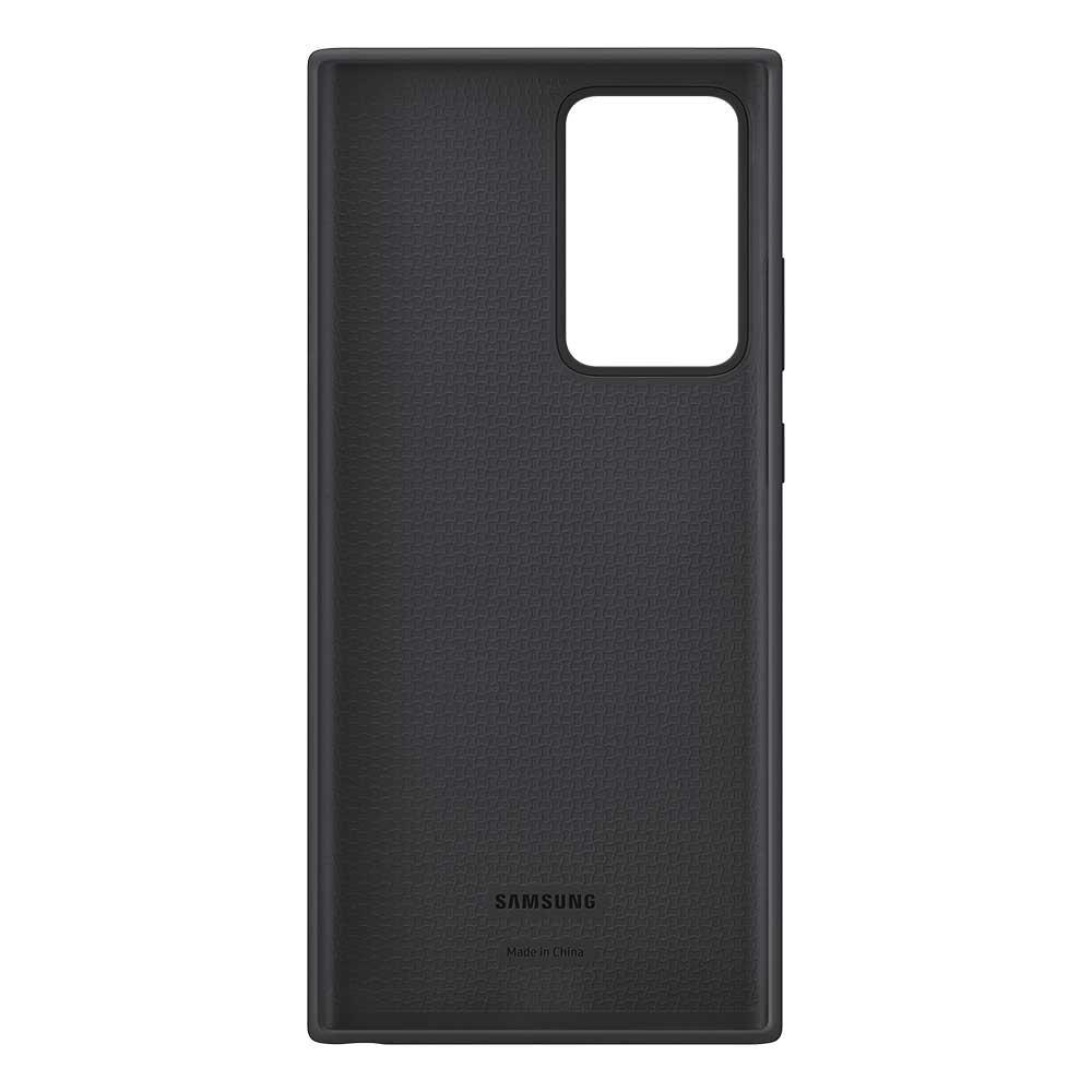 Silicone Cover Galaxy Note 20 Ultra Black