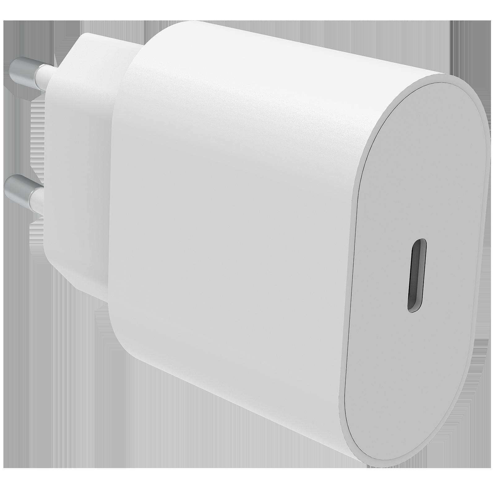 Power Delivery Laddare 18W USB-C Vit